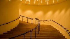 Karl Eckart Nissner - Treppe zum Saal