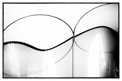 Klaus-Dieter Bergmann - Detail der Glasabtrennungen