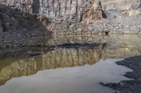 Im Steinbruch am Piesberg