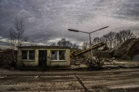 Limberg-Kaserne nach der Abrissbirne