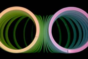 Regenbogenspirale