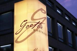 Goethe vermarktet