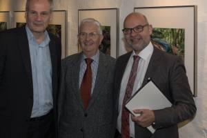 Museumsdirektor Spilker, Dr.Bergmann, Dr.Ulhorn