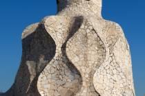 1 Schornstein der Casa Mila