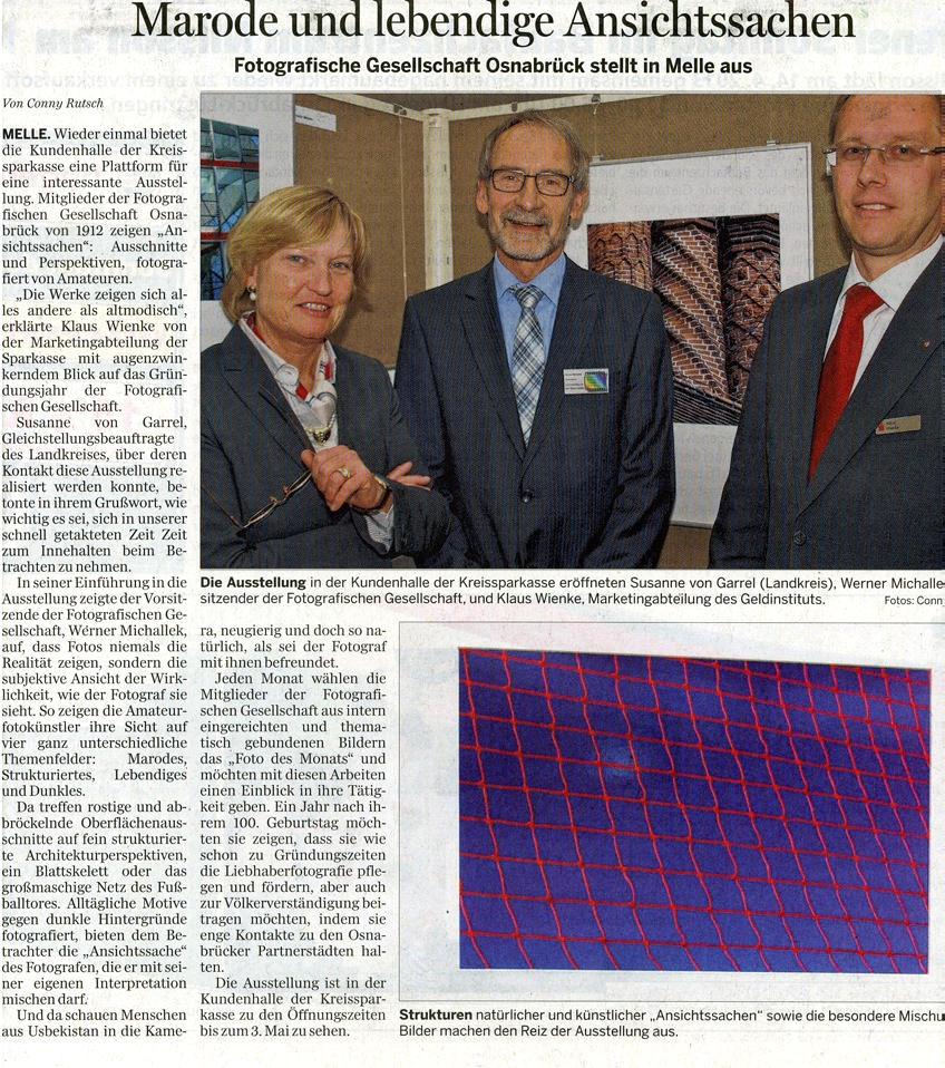 Meller Kreisblatt vom 14.04.2013