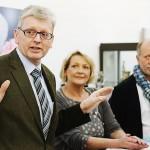 Bürgermeister Rehkämper eröffnet die Ausstellung