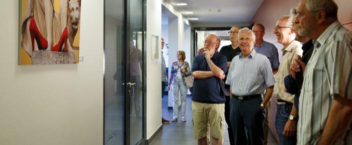 Ausstellung in der Paracelsus-Klinik