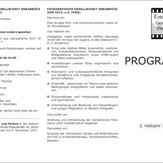 Programm 2017/2.Halbjahr
