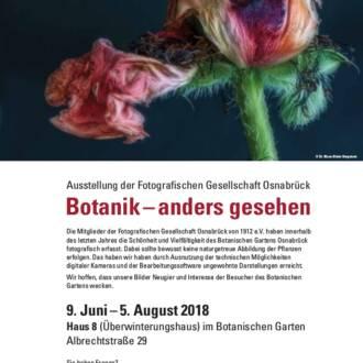 Ausstellung der FGO im Botanischen Garten