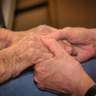 Tiefer Einblick in ein Pflegeheim
