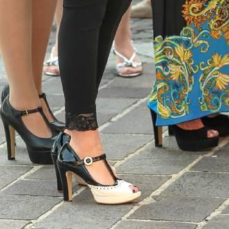 Monatsthema Fußbekleidung